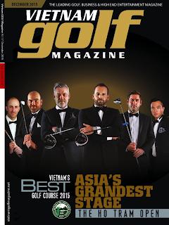 Vietnam Golf Magazine, Dec 2015